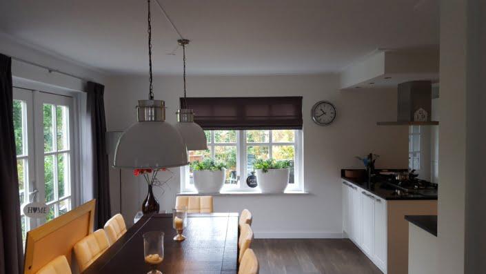 Gordijnen en vouwgordijnen keuken